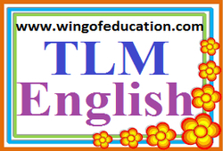 TLM For English Subject ~ wing of education