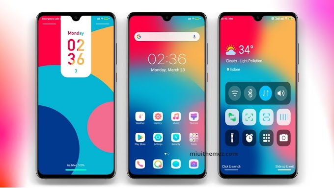 Cool Gradient Theme with Amazing Lockscreen | Need Theme for Xiaomi Devices