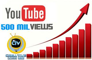 Creative TV ultrapassa marca de 500 mil visualizações no Youtube