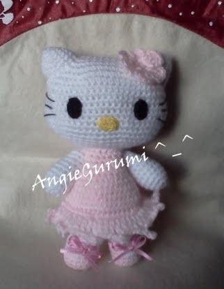 Gatita Hello Kitty - Tejiendo Perú | 414x322