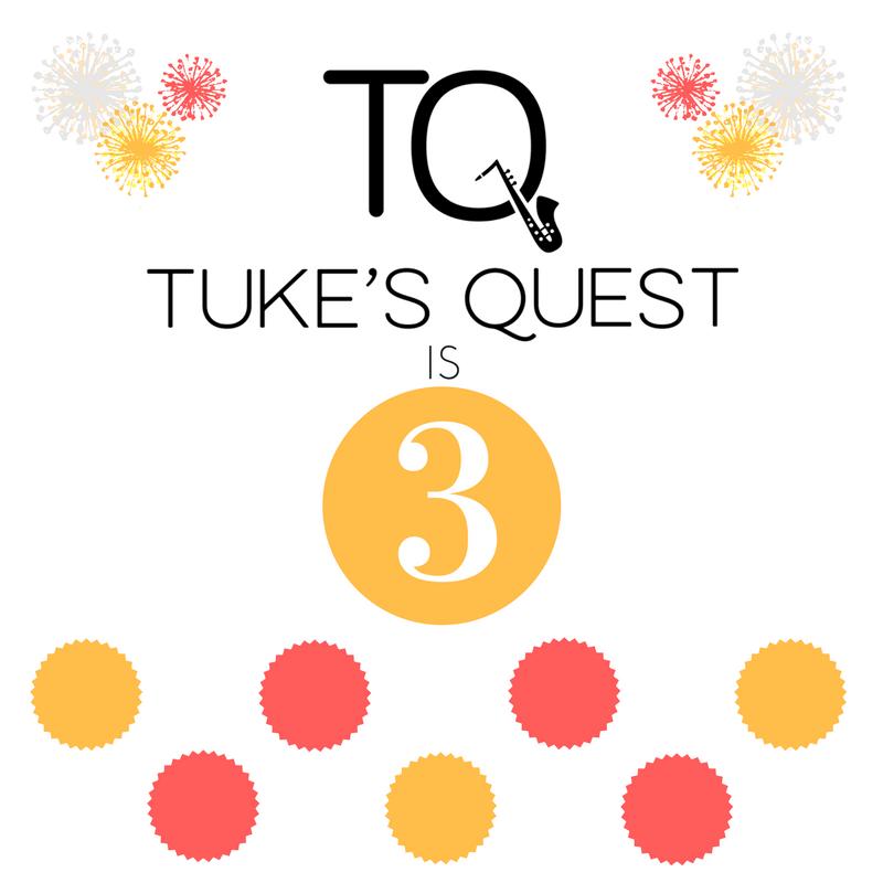 Tuke's Quest Blogversary Poster