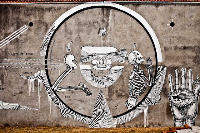 "Preview of ""Preto e Branco"", a double solo show by 2501 and Ozmo in Brazil. 1"