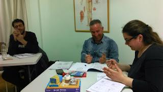 Φωτορεπορτάζ του χειμερινού τμήματος μαθημάτων εναλλακτικής θεραπείας Su Jok