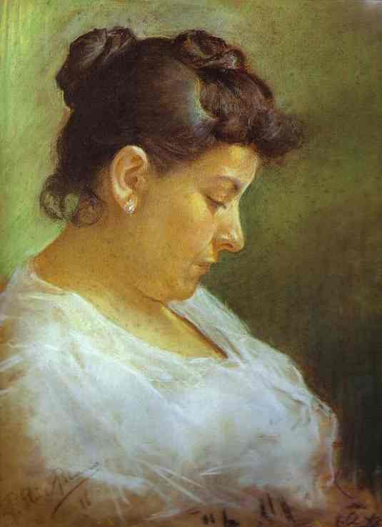 Pablo Picasso, Portrait of the Artist's Mother, 1896