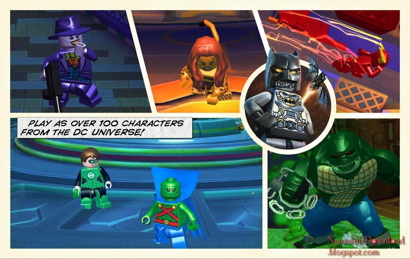 LEGO Batman Beyond Gotham v1.10.1 APK + OBB Data for ...