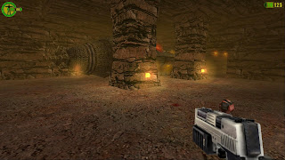 Mars game - Red Faction screenshot drill