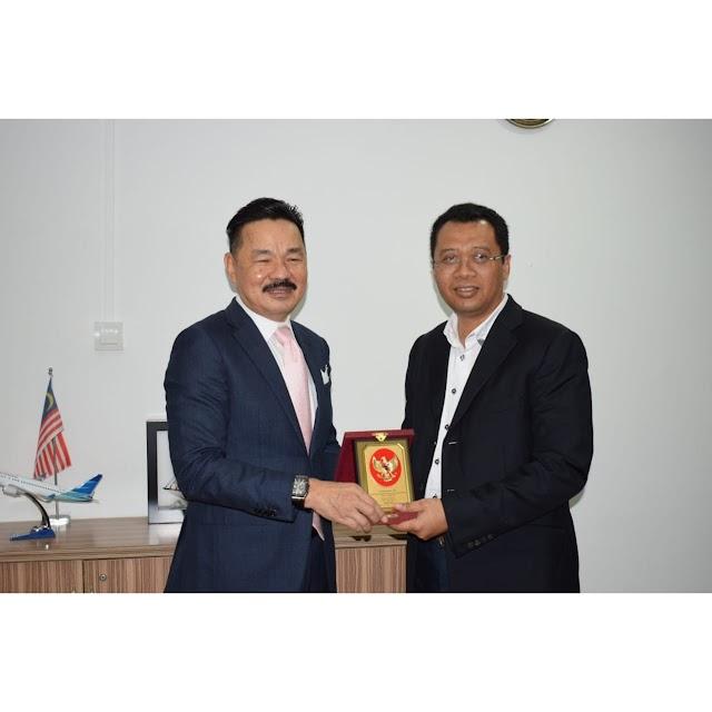 Kunjungi KBRI di Malaysia, Gubernur NTB Harapkan Dukungan Beasiswa Pendidikan dan Pariwisata.