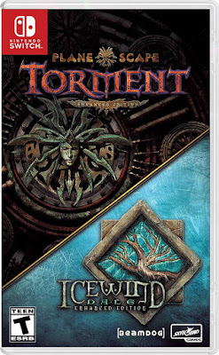Planescape Torment And Icewind Dale Enhanced Editions Game Cover Nintendo Switch