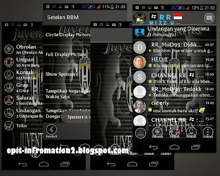 BBM Mod Juventus Based 2.8.0.21 Terbaru