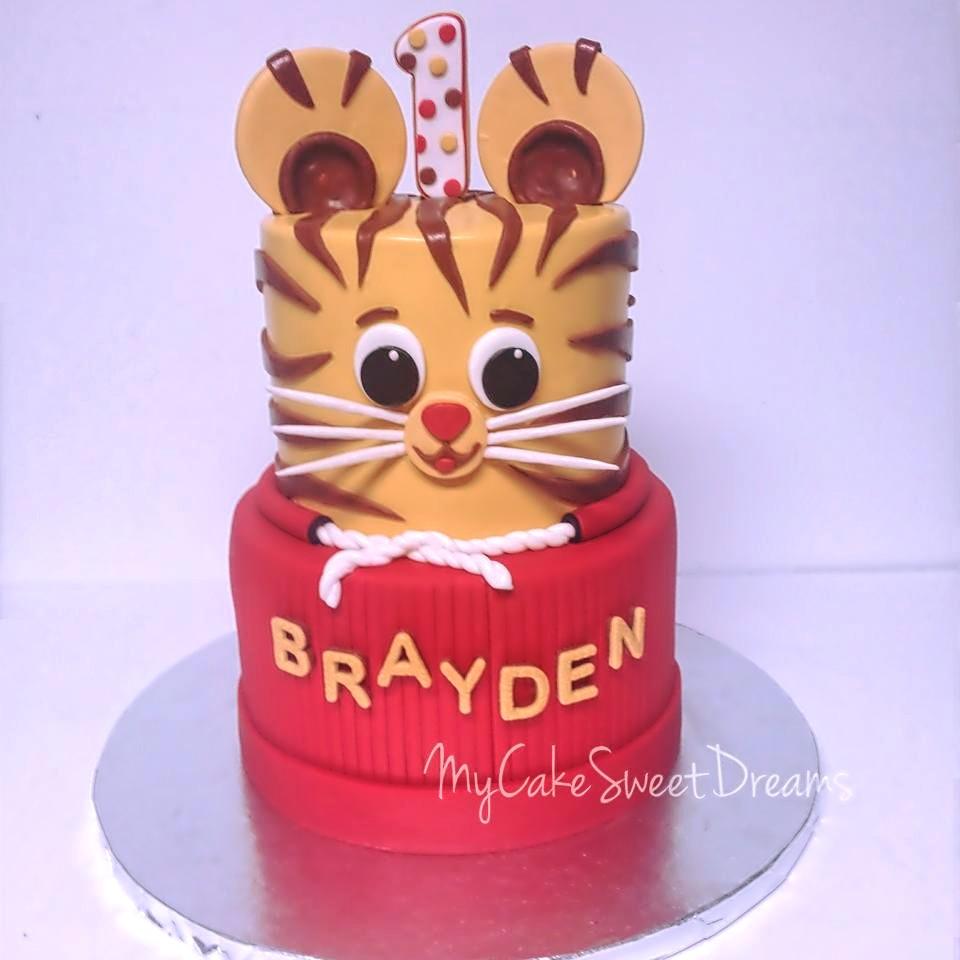 My Cake Sweet Dreams Daniel Tiger 1st Birthday Cake