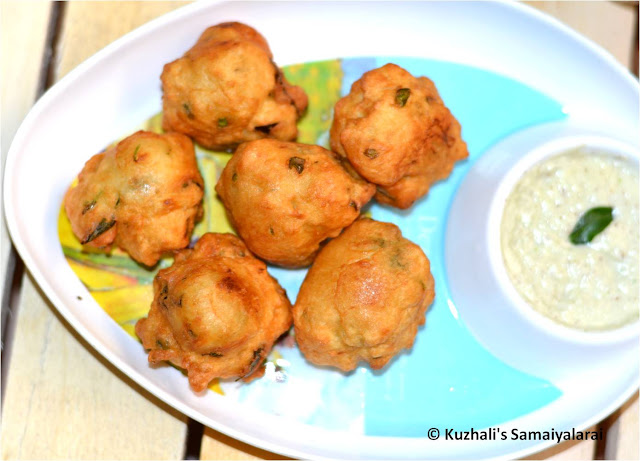 MANGALORE BONDA/GOLI BAJE RECIPE- EASY SNACK RECIPE