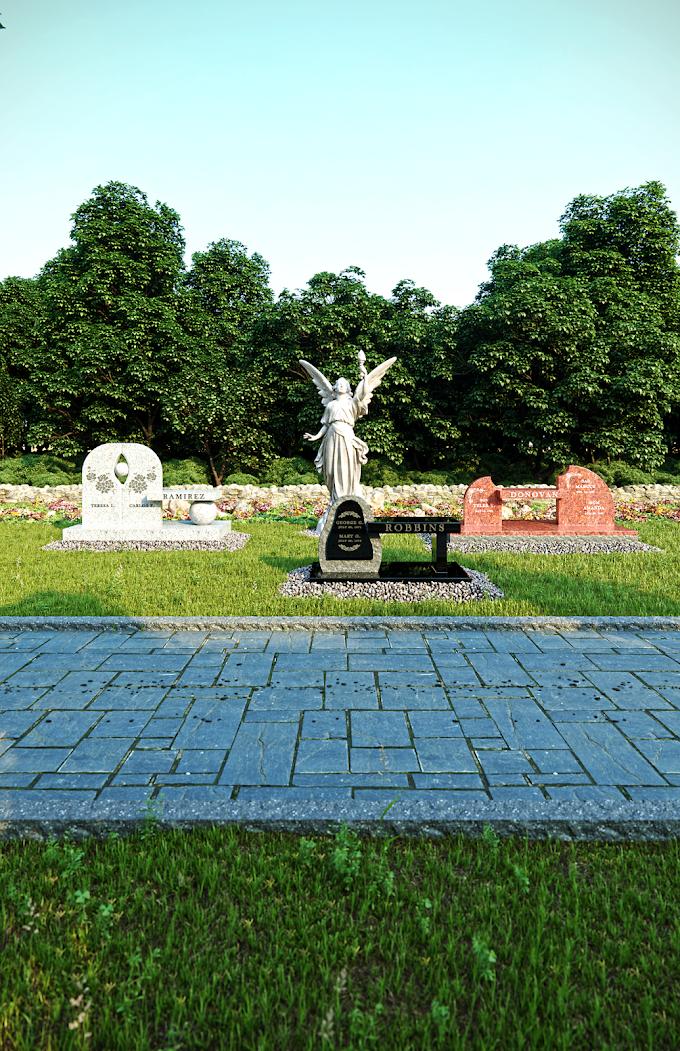 Cemetery Gardens #1