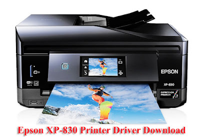Epson XP-830 Printer Driver Downloads Free Windows PC and Mac