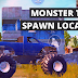 Monster Truck Spawn Locations In PUBG Mobile - Livik Map