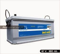 inci akü formul a heavy duty serisi 12 volt 180 amper