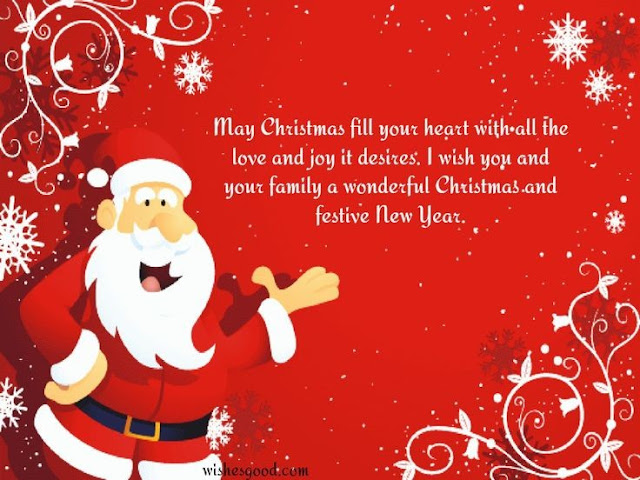 merry christmas pic messages