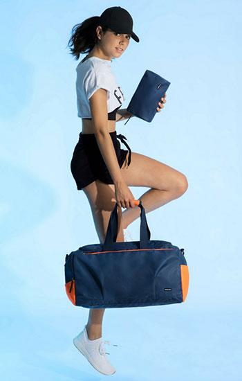 bolsa y neceser Misako línea de deporte