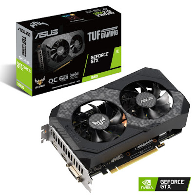 ASUS anuncia TUF Gaming e Phoenix GeForce GTX 1660