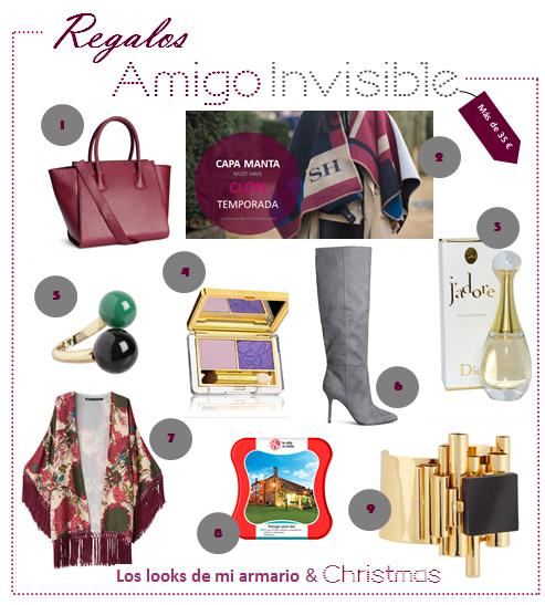 Amigo invisible guia de compras los looks de mi armario for Regalos originales amigo invisible