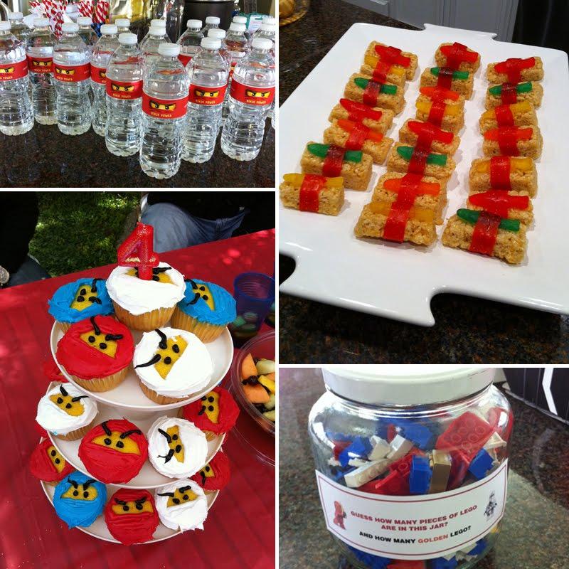 Lego Ninjago Birthday Party Google Search: Swanky::chic::fete: Cooper's 4th Ninjago Party