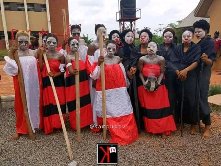 Check out Induction Photos of First Year Students of Theater Arts Department in UNIZIK