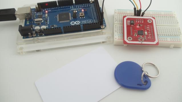 Comunicação sem fio com módulo PN532 NFC RFID