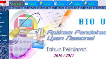 Download Aplikasi BIOUN Tahun Pelajaran 2016/2017 dan Panduan Pengisiannya