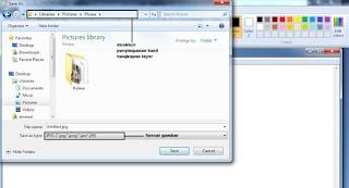 Cara Mengambil Screenshot pada windows 7, 8 dan 10 Tanpa Software