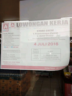 Karir Lowongan Kerja Alfamidi Bandung Terbaru 2020 SMA SMK MA PAKET C