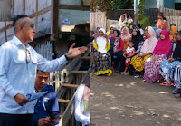Mori Hanafi, Caleg Provinsi NTB Nomor Urut 2 Partai Gerindra Silaturrahim dari Desa ke Desa