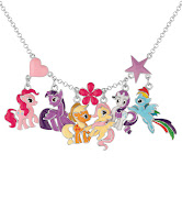 Silver Pony Charm Necklace