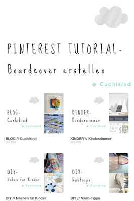 Pinterest Tutorial Boardcover erstellen