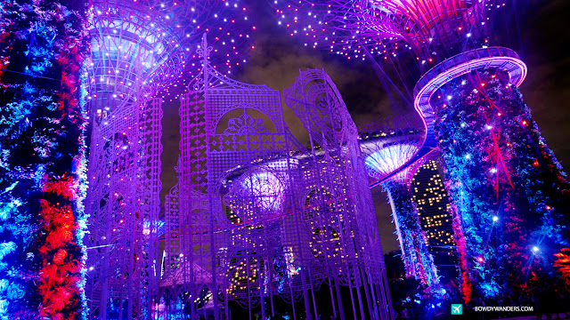 bowdywanders.com Singapore Travel Blog Philippines Photo :: Singapore :: Photo Essay: Christmas Wonderland at Singapore's Gardens By The Bay