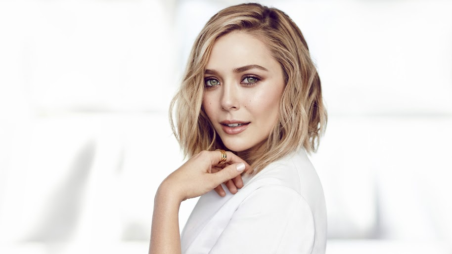 Elizabeth Olsen, Blonde, Girl, 4K, #300