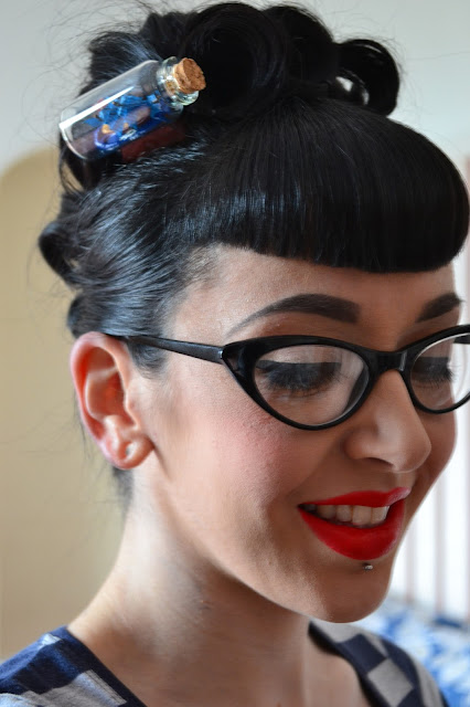 Now-Voyager Hair Clip Review Little Miss Doo Wop