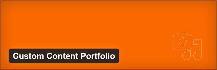 Custom Content Portfolio plugin
