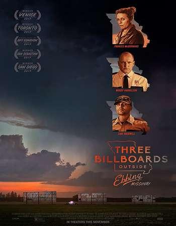 Three Billboards Outside Ebbing Missouri 2017 Full English Movie BRRip Download
