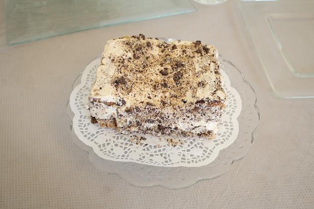 IMG 2767 - עוגת אגוזים וקרם מוקה משגעת לפסח
