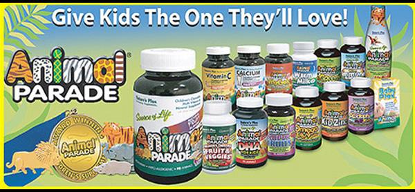 Animal parade vitamins - chewable multivitamins for kids