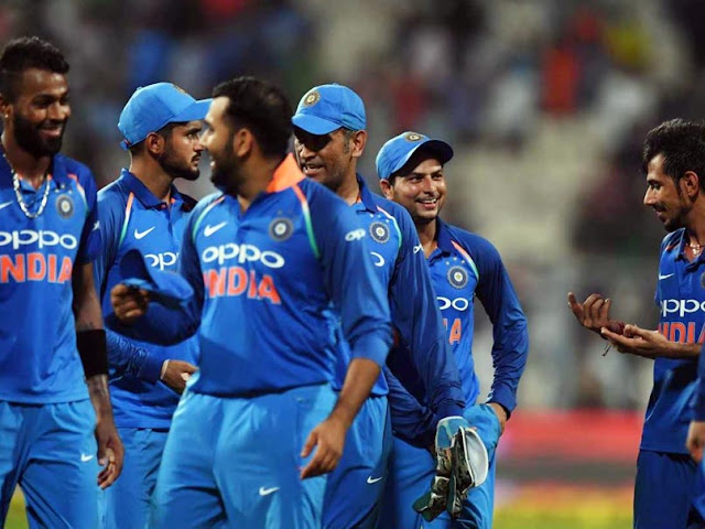 "Rohit Sharma became ""Man of the Match"" and Hardik Pandya was announced ""Man of the Series"""