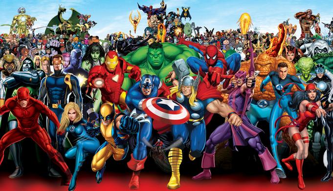 karakter dan nama pahlawan superhero terkenal