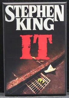 Stephen King It Novel Refrigerator Magnet, Stephen King Gifts, Stephen King Merchandise, Stephen King Store