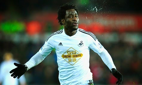 Real Madrid eye Premier League star Wilfried Bony