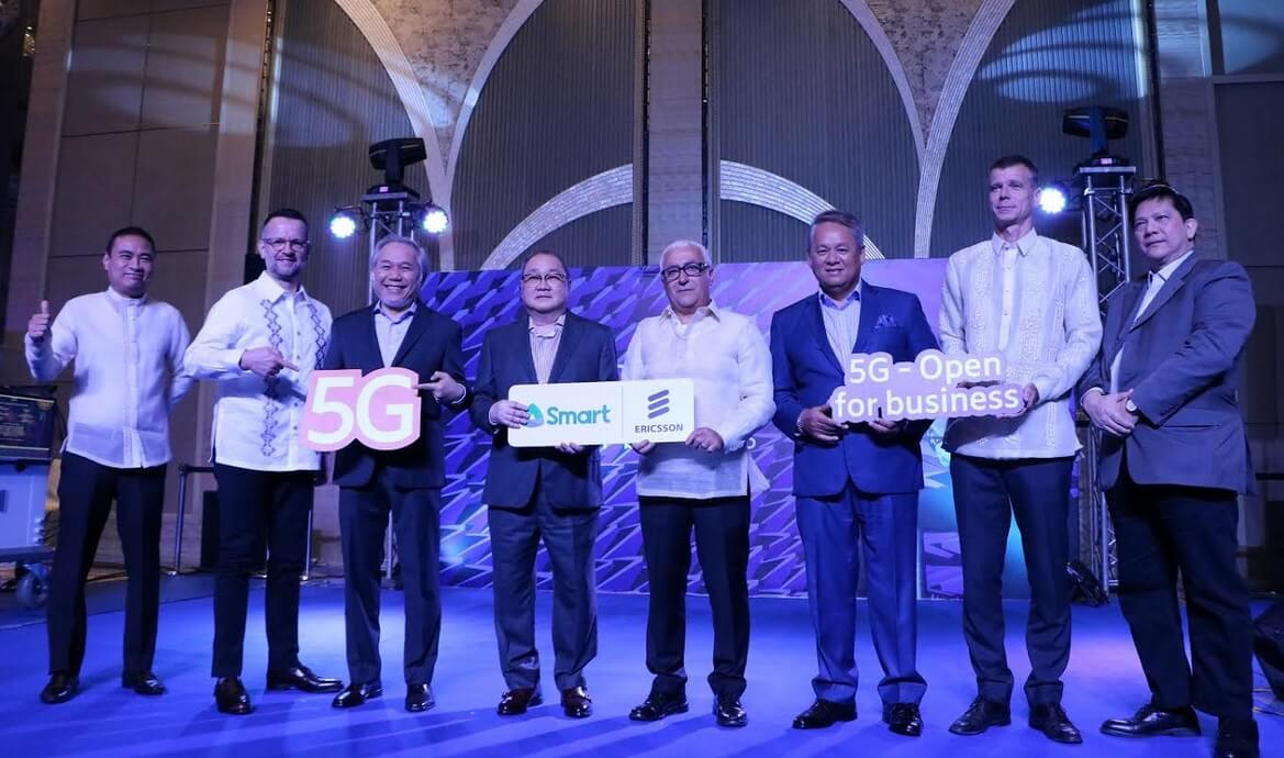 Smart and Ericsson to Bring 5G Networks in PH by First Half of 2019