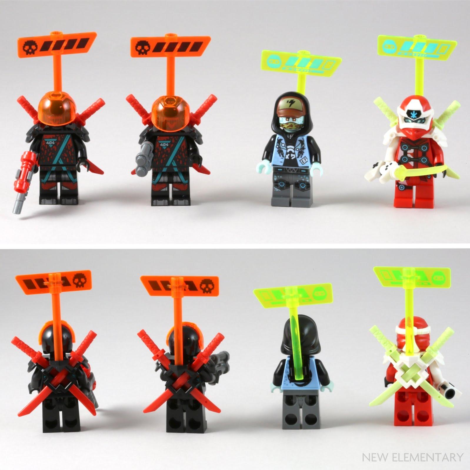 Scott LEGO Ninjago 71710 - Figur Minifigur Digi Avatar Arcade Gamer 71710