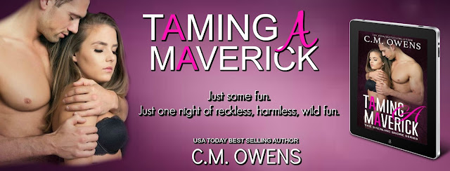 [Blog Tour] TAMING A MAVERICK by CM Owens @CMOwensAuthor @BookSmacked #Playlist