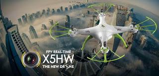 Gambar drone syma x5hw