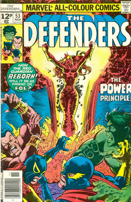 Defenders #53, cover