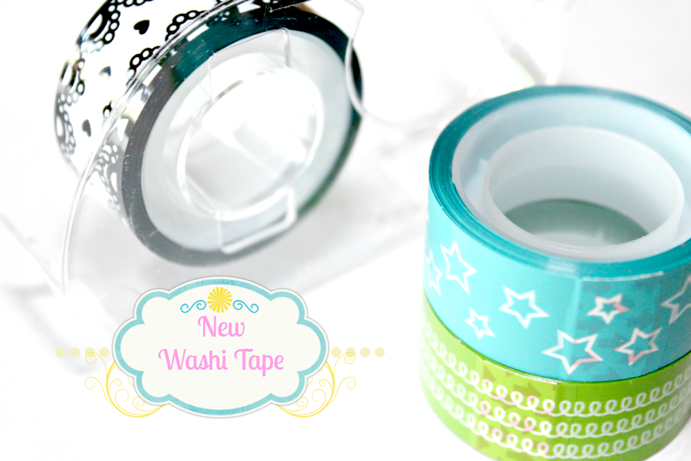 washi tape kolory