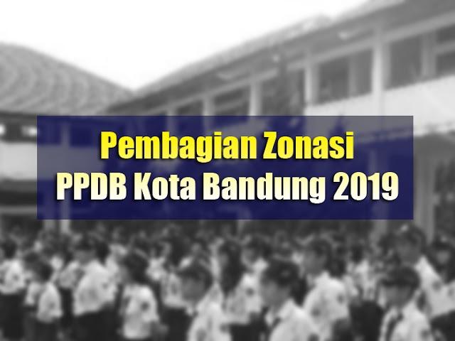 Inilah Pembagian Zonasi PPDB Kota Bandung 2019